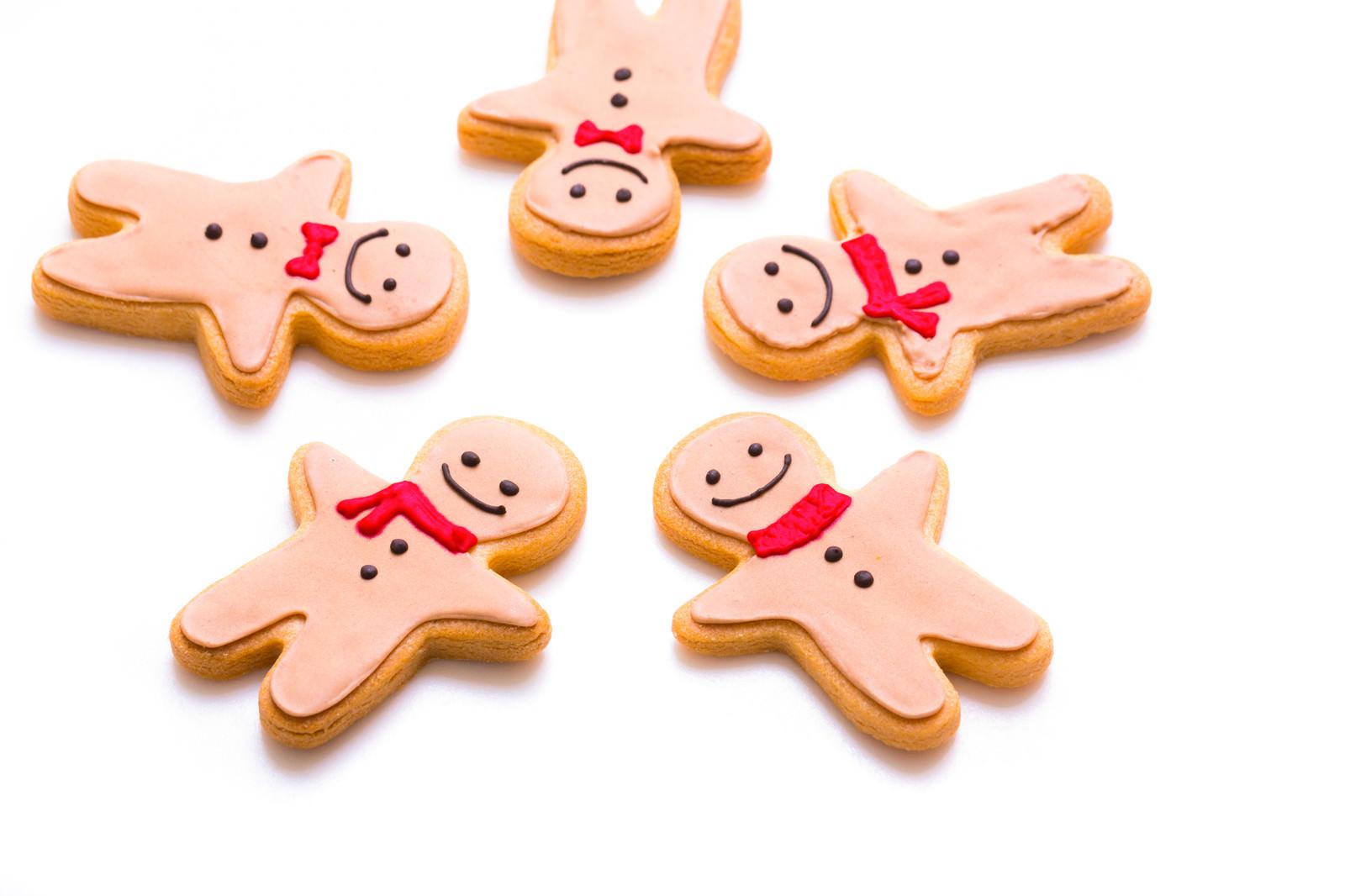 「仲良し5人組クッキー仲良し5人組クッキー」のフリー写真素材を拡大