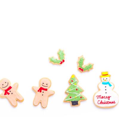 2人でメリークリスマス(アイシングクッキー)の写真