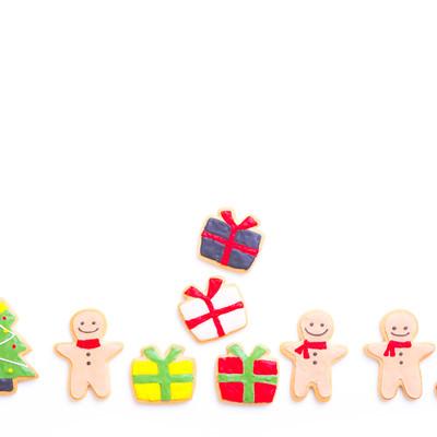 パリピのクリスマス(アイシングクッキー)の写真
