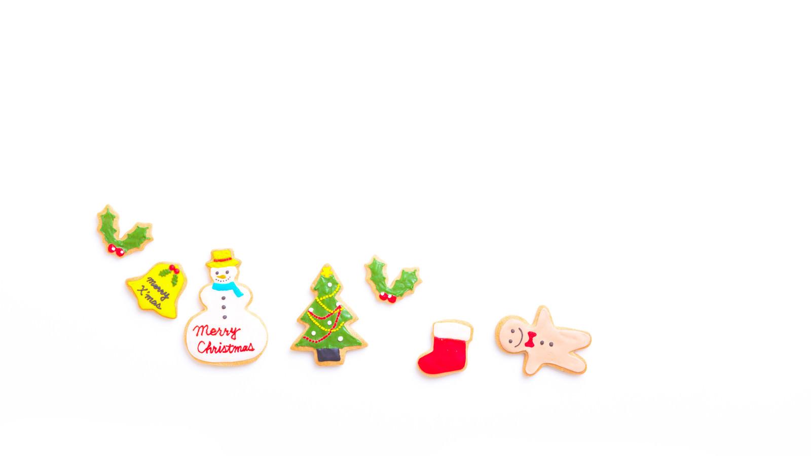 「クリスマスに起きた事件(アイシングクッキー) | 写真の無料素材・フリー素材 - ぱくたそ」の写真