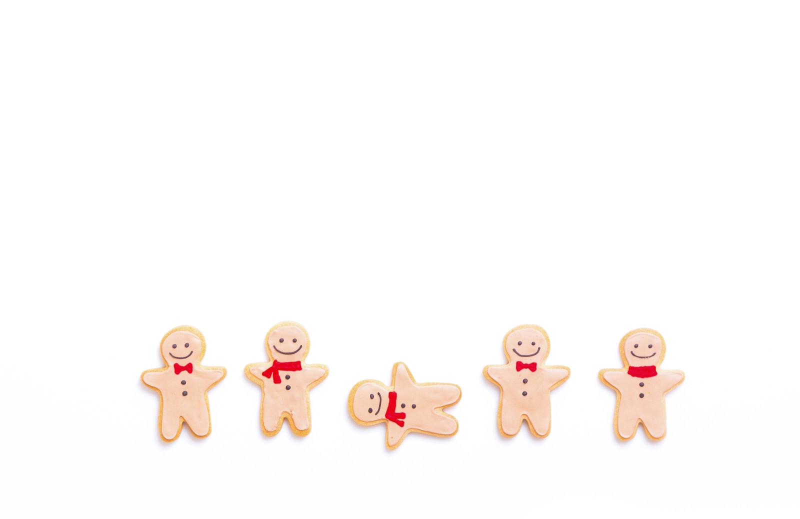 「ひとりだけ仲間はずれ(アイシングクッキー)ひとりだけ仲間はずれ(アイシングクッキー)」のフリー写真素材を拡大