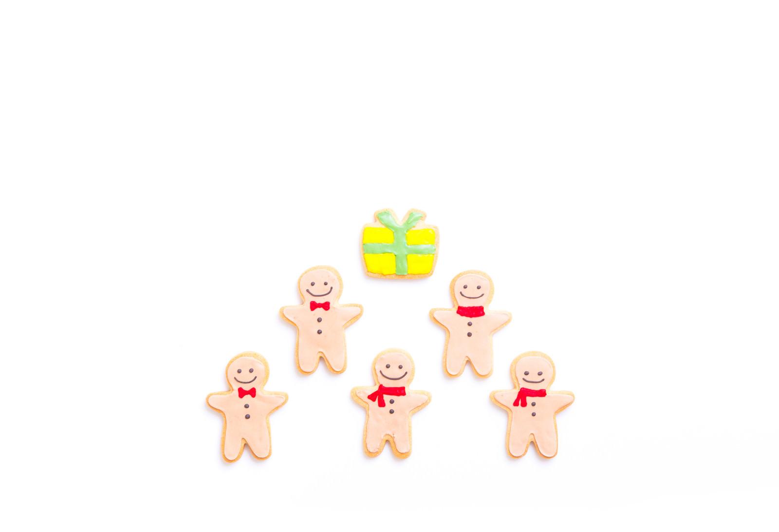 「みんなからの贈り物(アイシングクッキー)みんなからの贈り物(アイシングクッキー)」のフリー写真素材を拡大