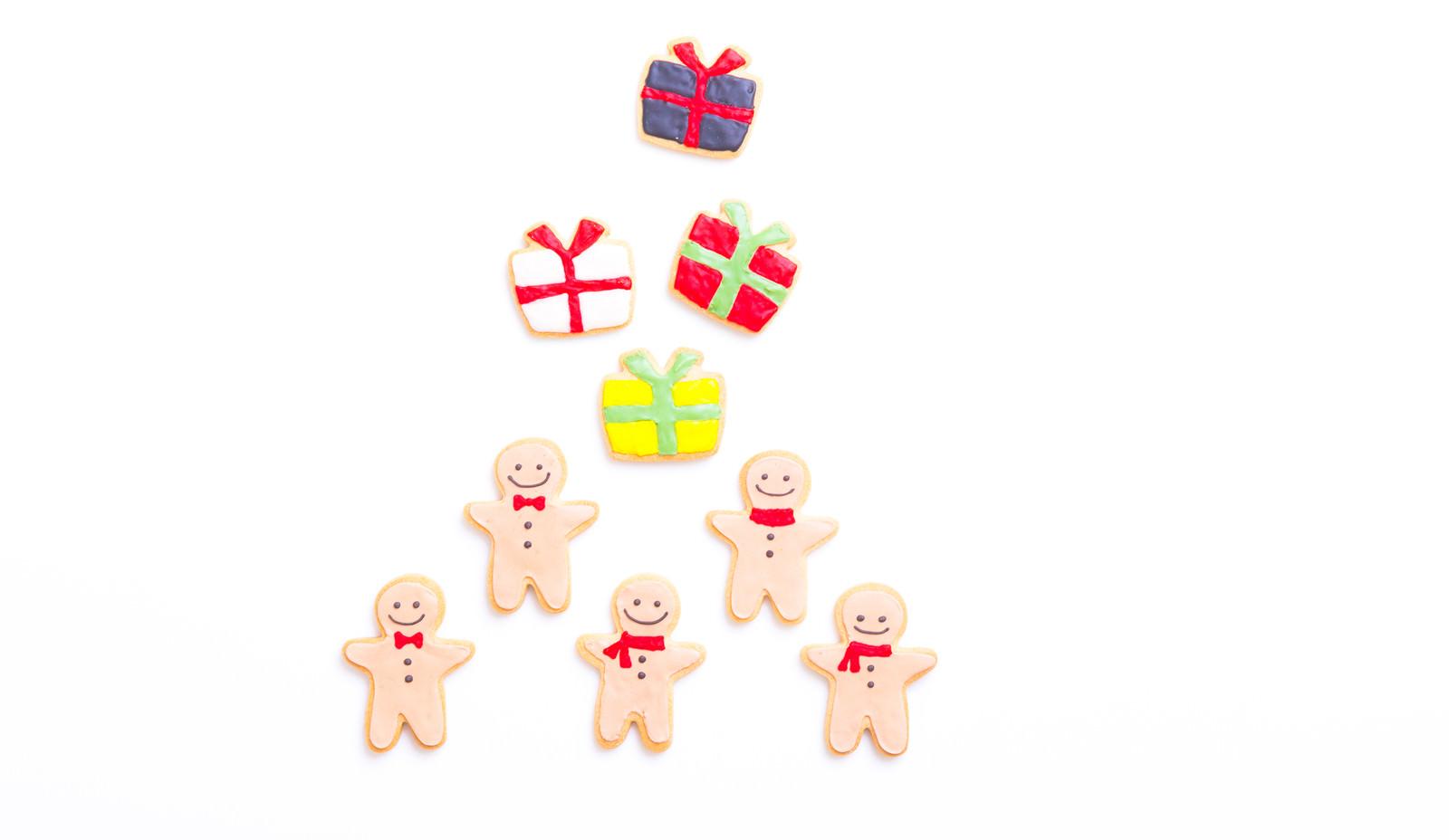 「プレゼント交換(アイシングクッキー)」の写真
