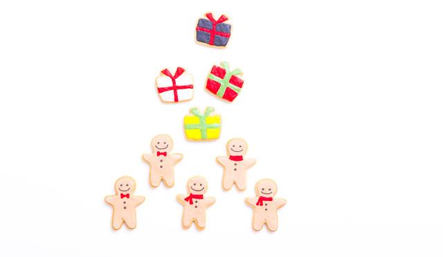 プレゼント交換(アイシングクッキー)の写真