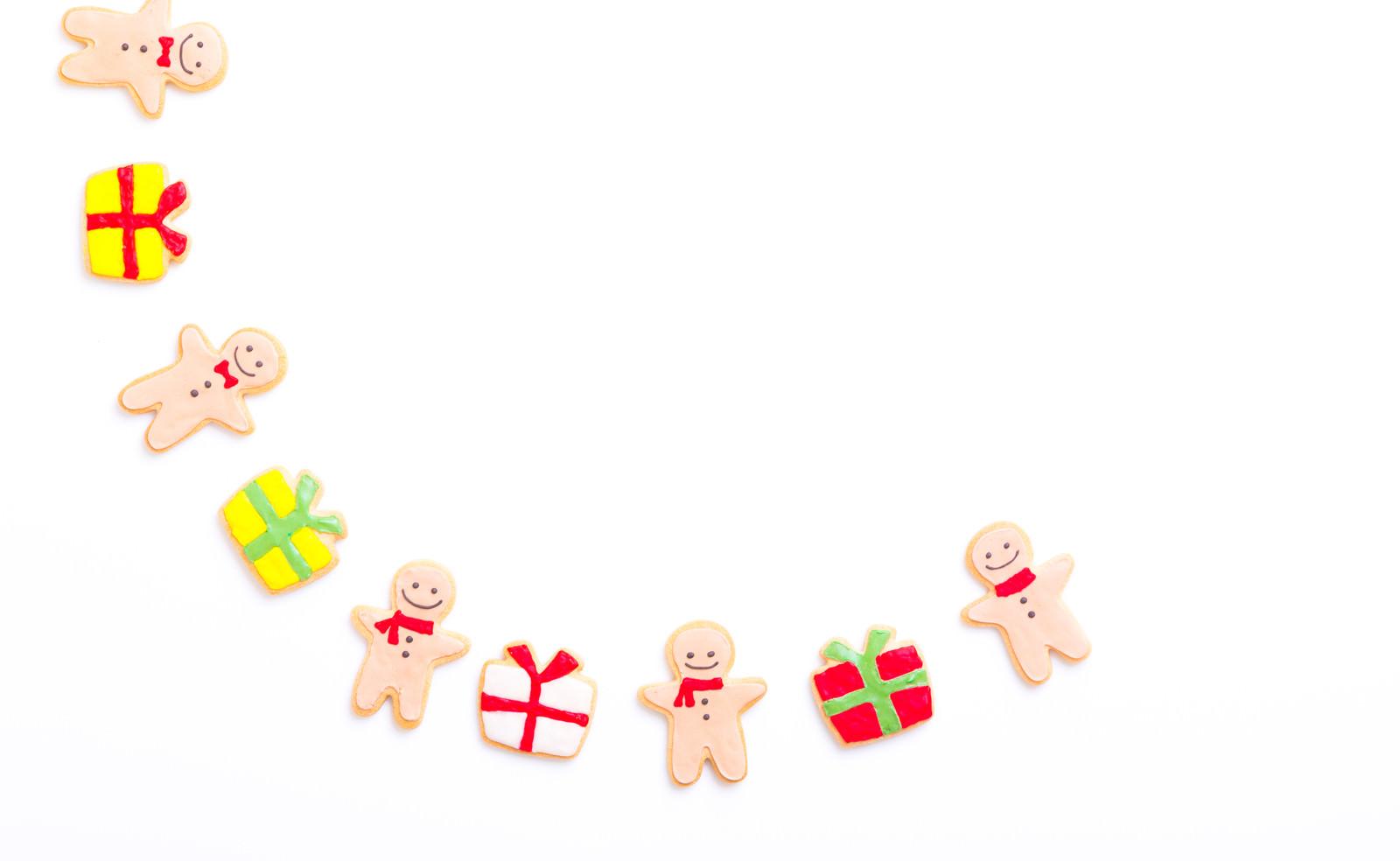 「みんなのでプレゼント交換(アイシングクッキー)」の写真
