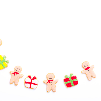 みんなのでプレゼント交換(アイシングクッキー)の写真