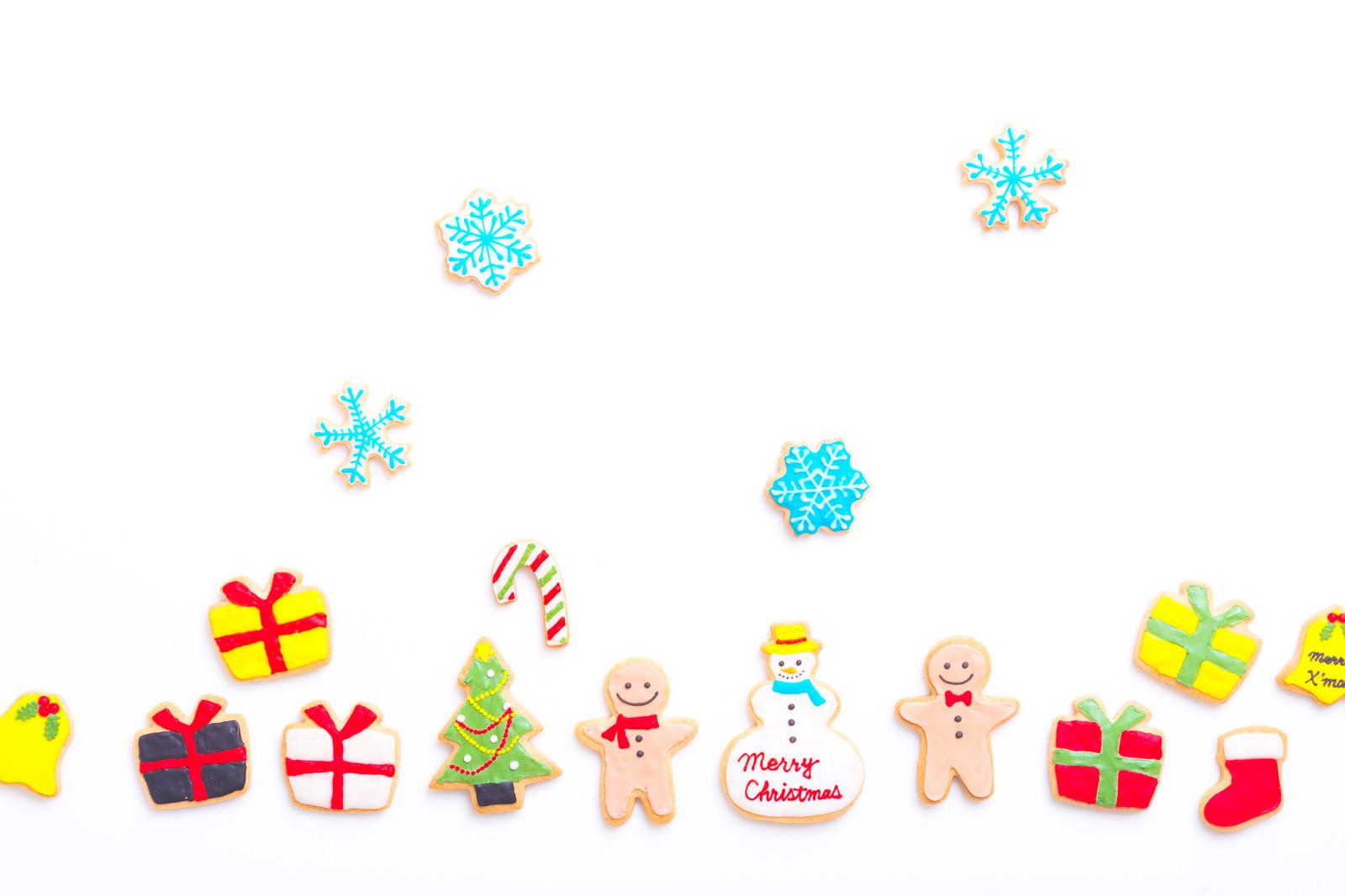「メリークリスマス!(アイシングクッキー)」の写真