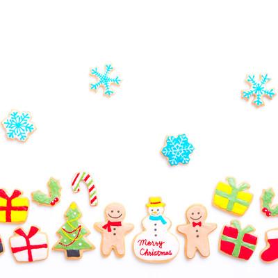 楽しいクリスマス(アイシングクッキー)の写真
