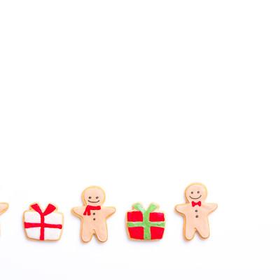 少人数でプレゼント交換(アイシングクッキー)の写真
