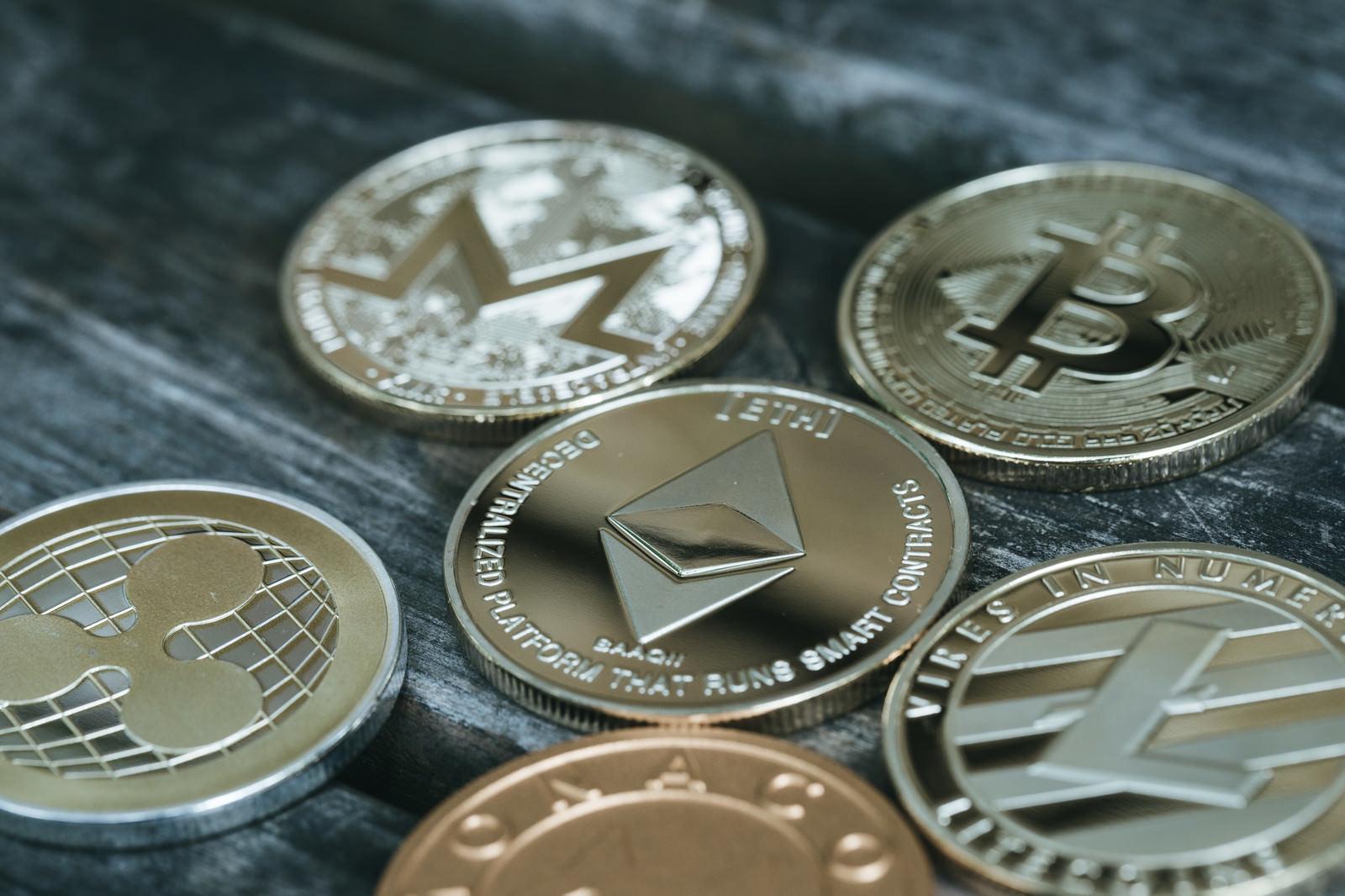 「仮想通貨の様子」の写真