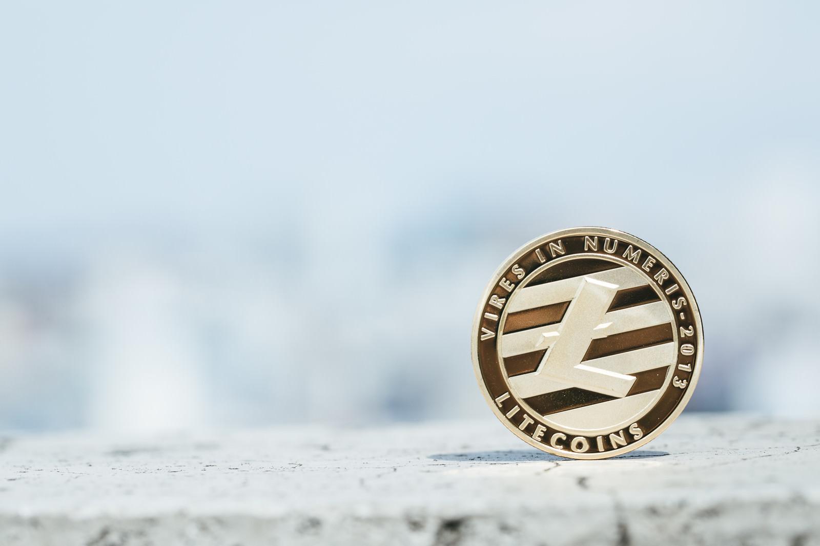 「ライトコイン(仮想通貨)」の写真