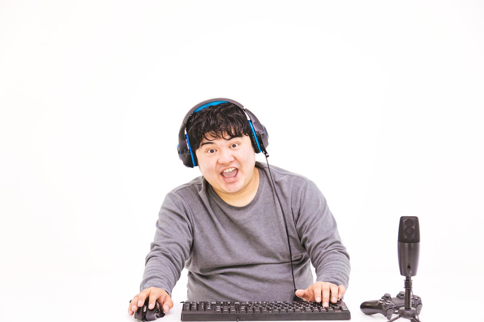 「俺TUEEEE」の写真[モデル:段田隼人]