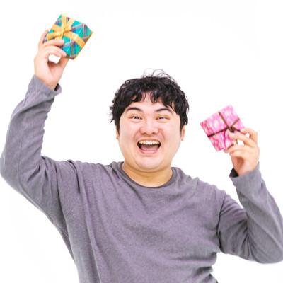 バレンタインデーにチョコをもらったエンジニアさん(ただし義理)の写真