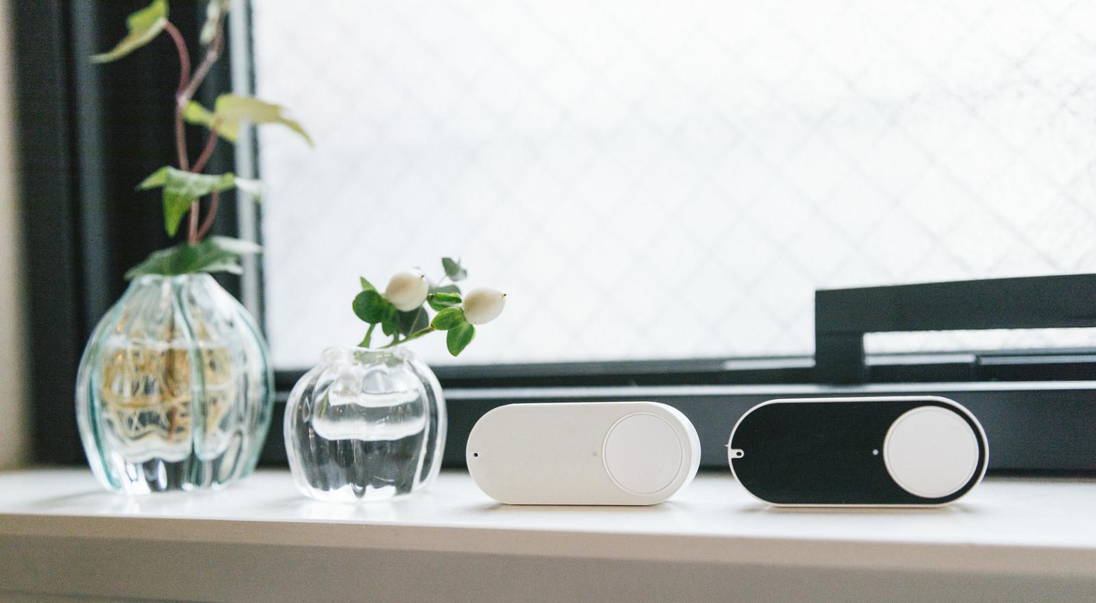 「簡単に買い物ができるボタン簡単に買い物ができるボタン」のフリー写真素材を拡大