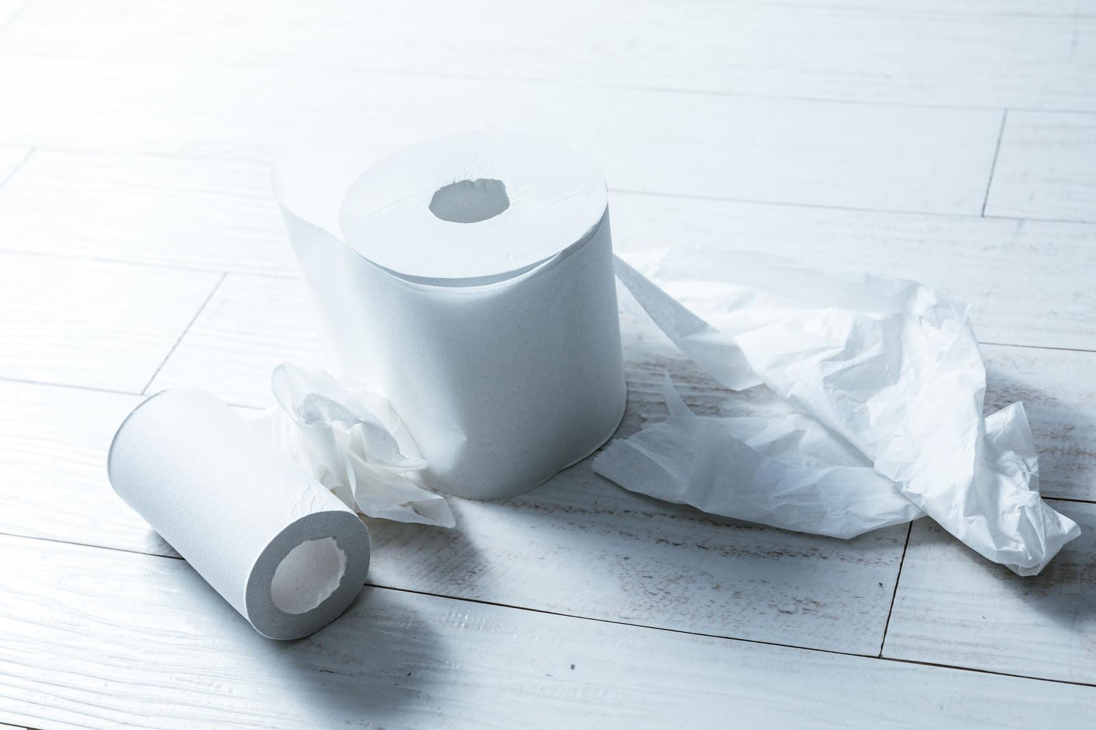 「トイレのあと、お尻がふけてなくて汚い」の写真