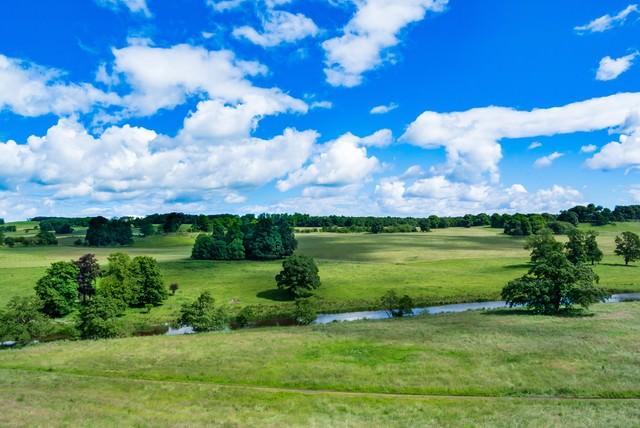 イギリス北部の自然風景の写真
