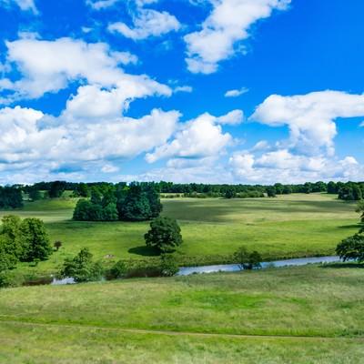 「イギリス北部の自然風景」の写真素材