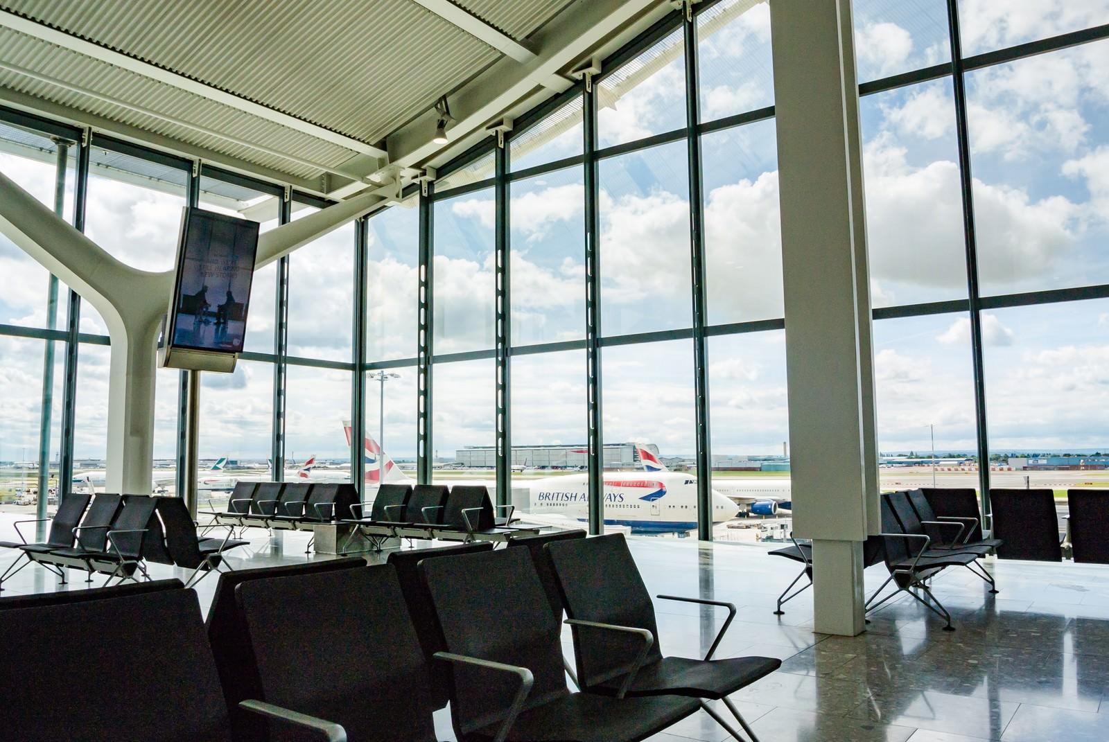 「ヒースロー空港から」の写真
