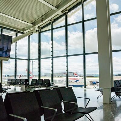 「ヒースロー空港から」の写真素材