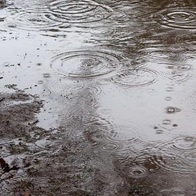「雨の日」の写真素材