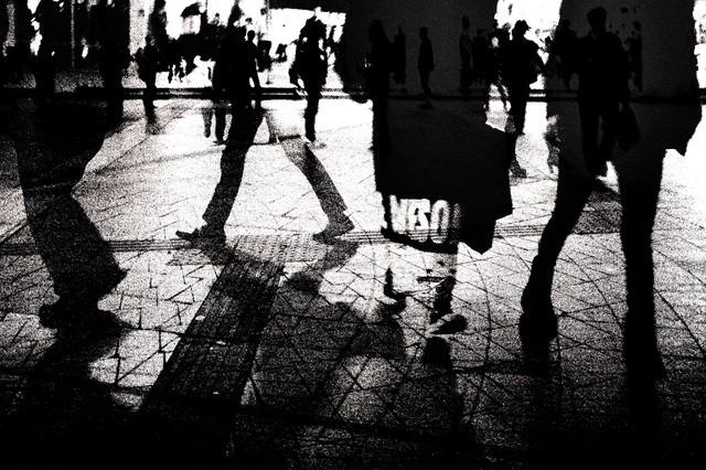 交差する世界の写真