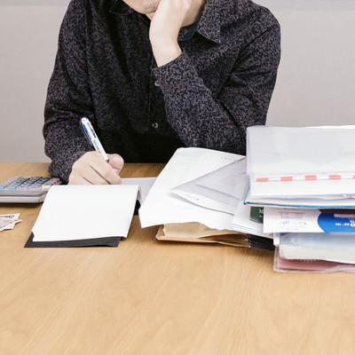 「個人と取引する場合、支払調書は必要ですか?」の写真素材