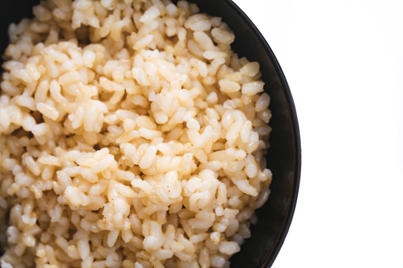 「茶碗玄米」の写真