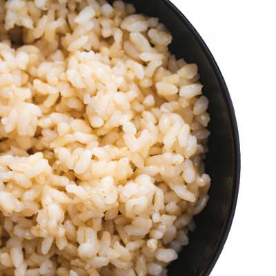 茶碗玄米の写真