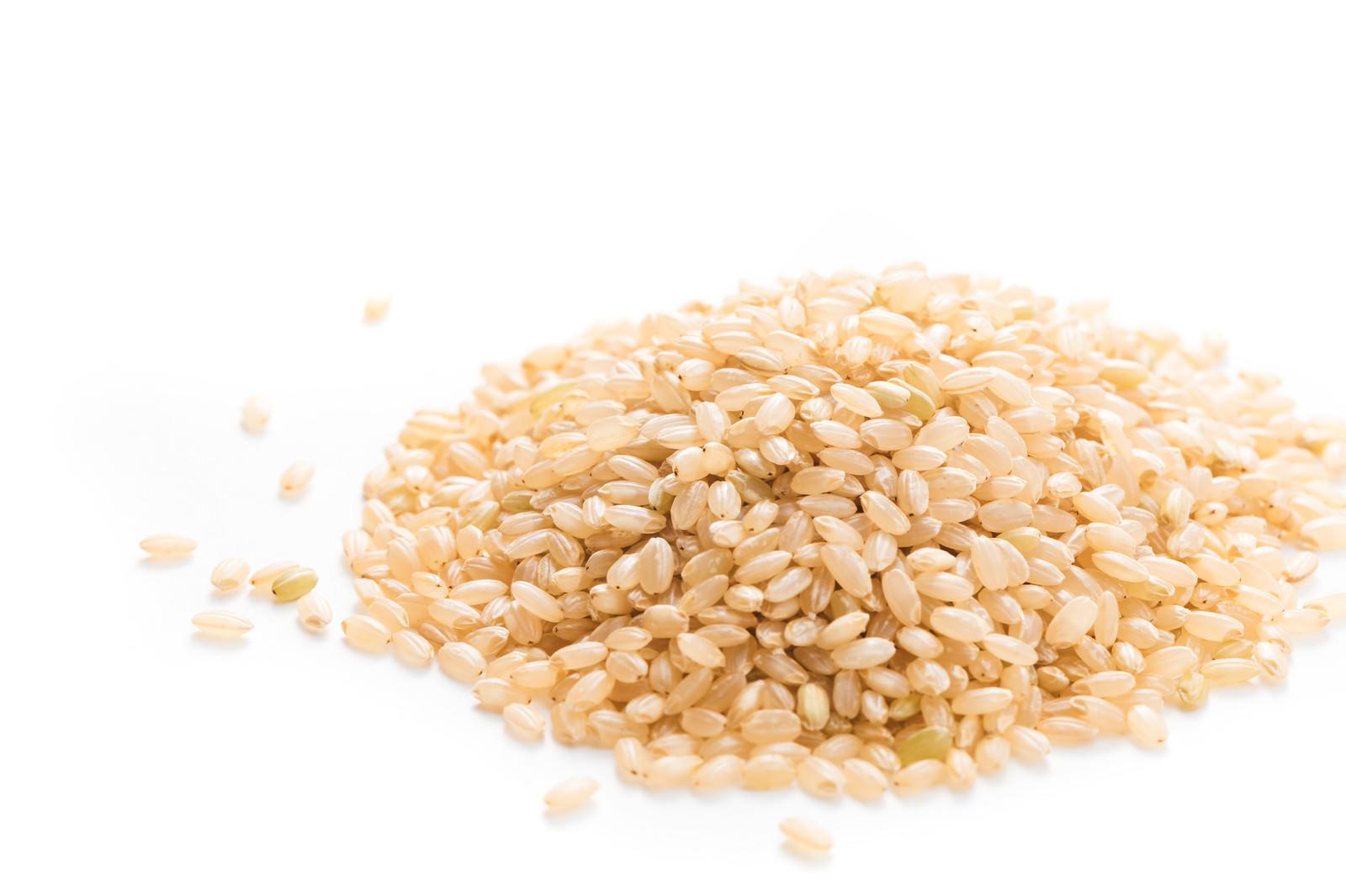 「低GI値の玄米」の写真