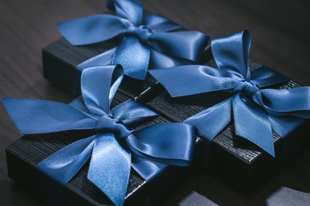 複数のプレゼントの写真