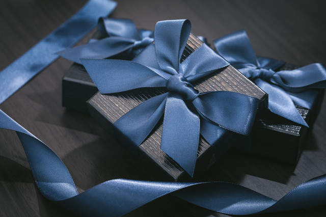高価なプレゼントの写真
