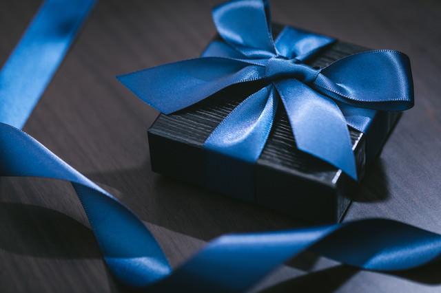 高価なプレゼント感の写真