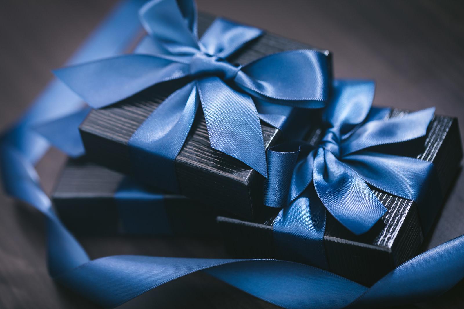 「積まれたプレゼント」の写真