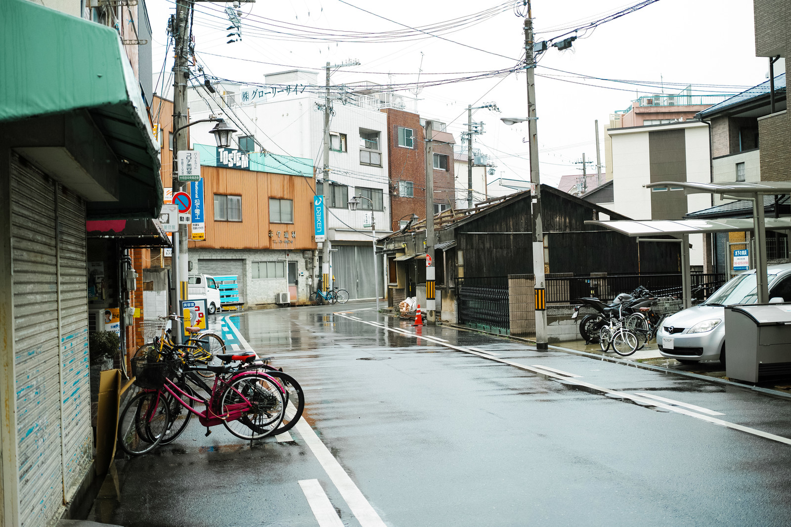 「GIGAZINE第一倉庫(大阪市西淀川区大和田4丁目12-10)前」の写真