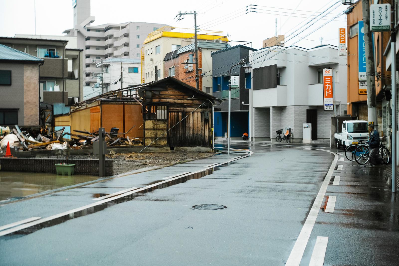 「他人が勝手に建物を破壊する事件が発生したGIGAZINE第一倉庫(大阪市西淀川区大和田4丁目12-10)の様子」の写真