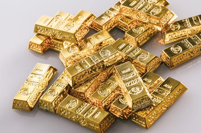 ゴールドバー(金塊)の写真
