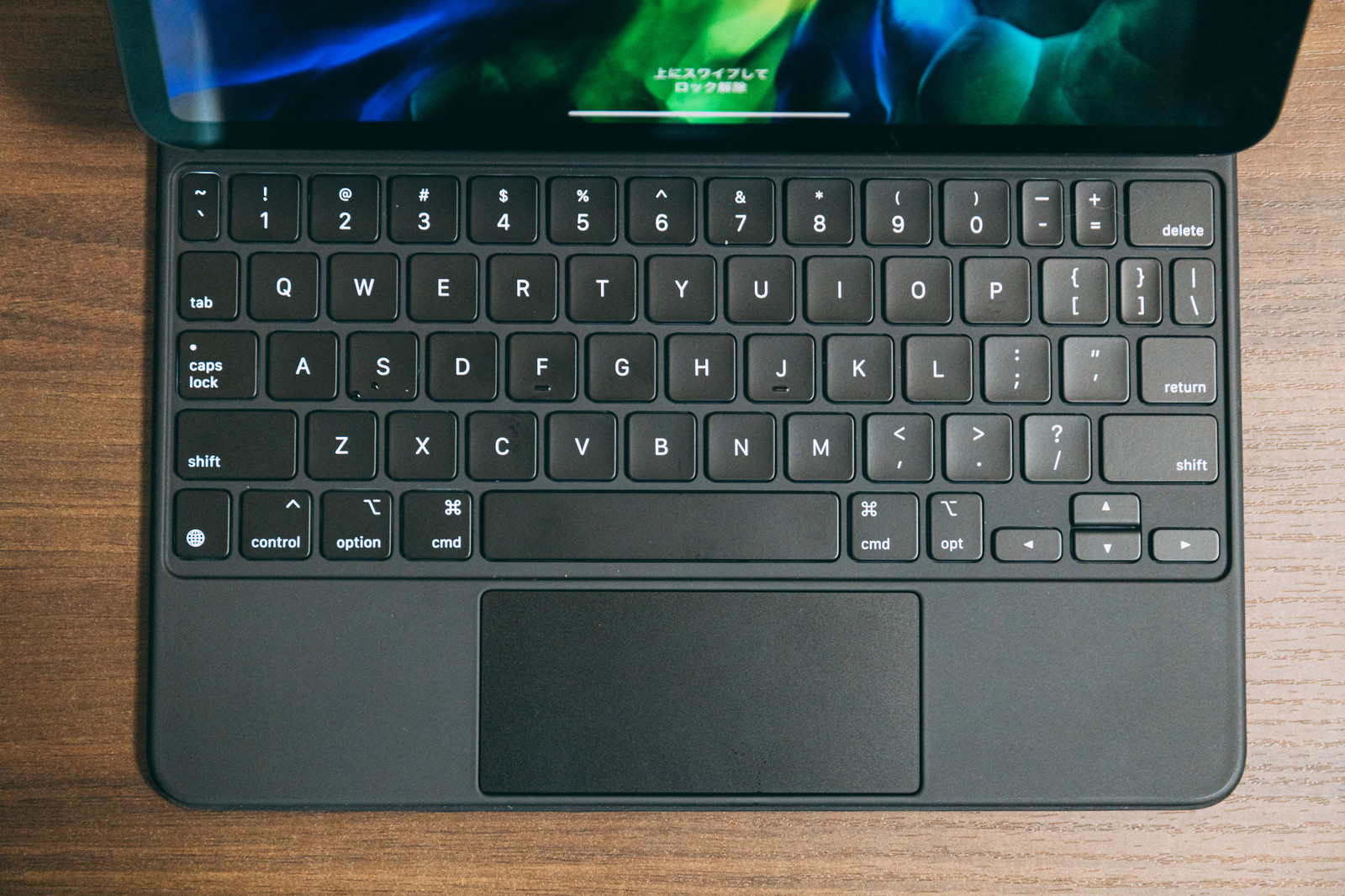 「iPad用のキーボード」の写真