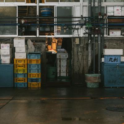 移転はいつになるのか・・・東京築地市場の写真