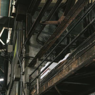 「老朽化に伴い移転予定の築地市場内」の写真素材