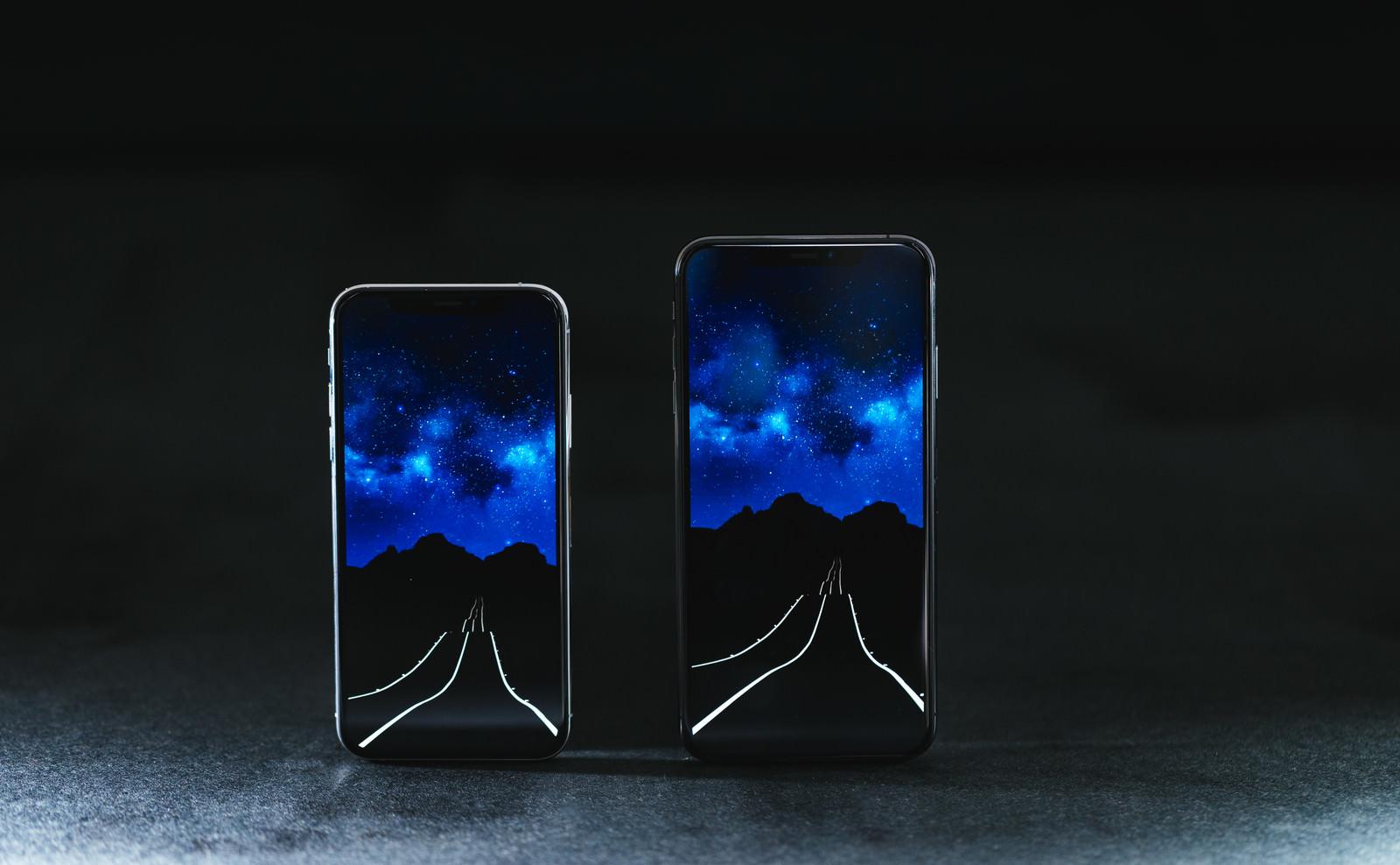 「有機ELの大画面 iPhone XS/XS Max」の写真