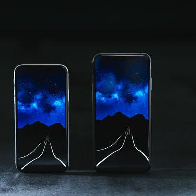 有機ELの大画面 iPhone XS/XS Maxの写真