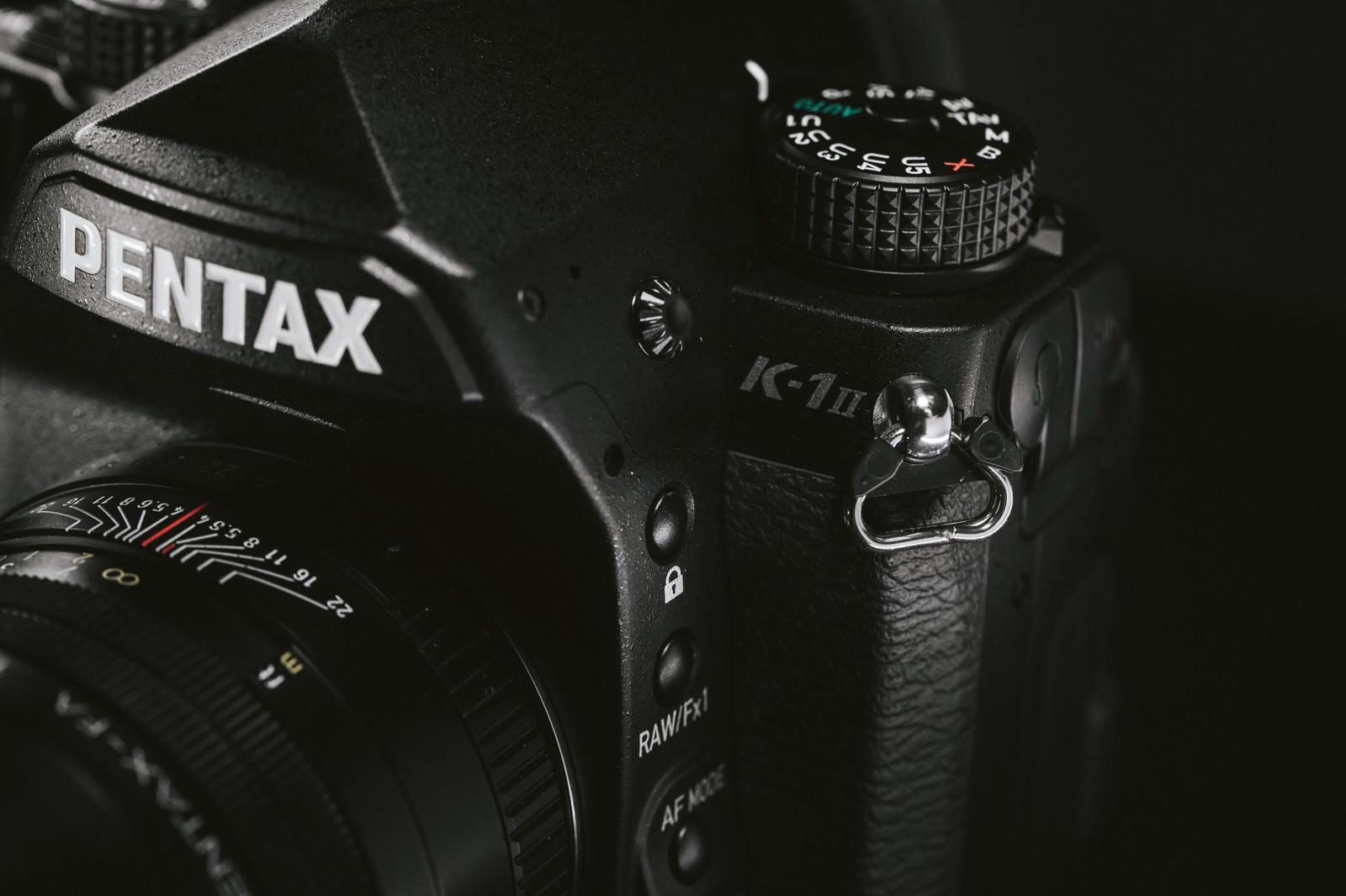「PENTAX K-1 MarkⅡのボディ」の写真