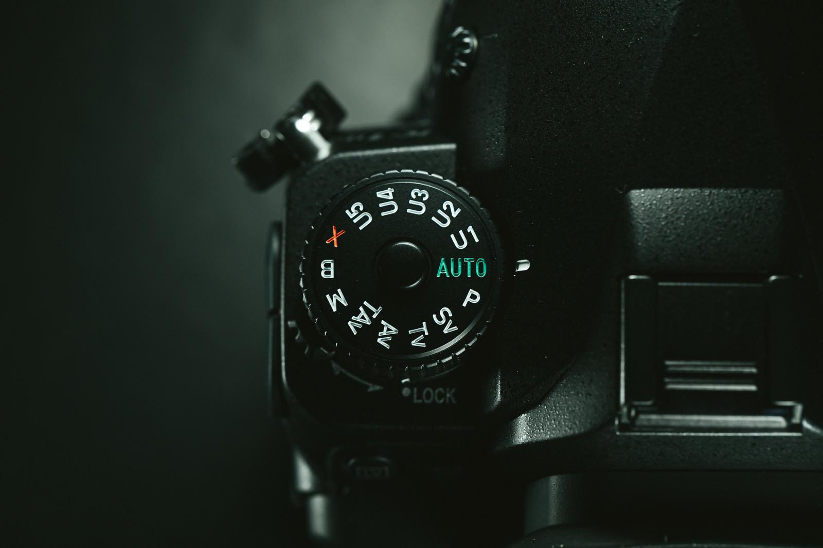 「PENTAX K-1 MarkⅡ 撮影モードダイヤル」の写真