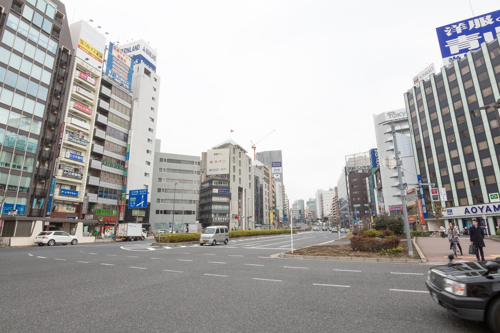 「五反田駅前(桜田通り)」の写真