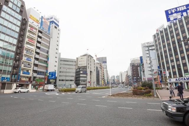 五反田駅前(桜田通り)の写真