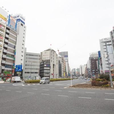 「五反田駅前(桜田通り)」の写真素材