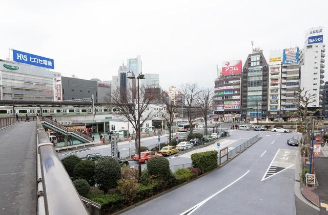五反田駅前(タクシー乗り場など)の写真