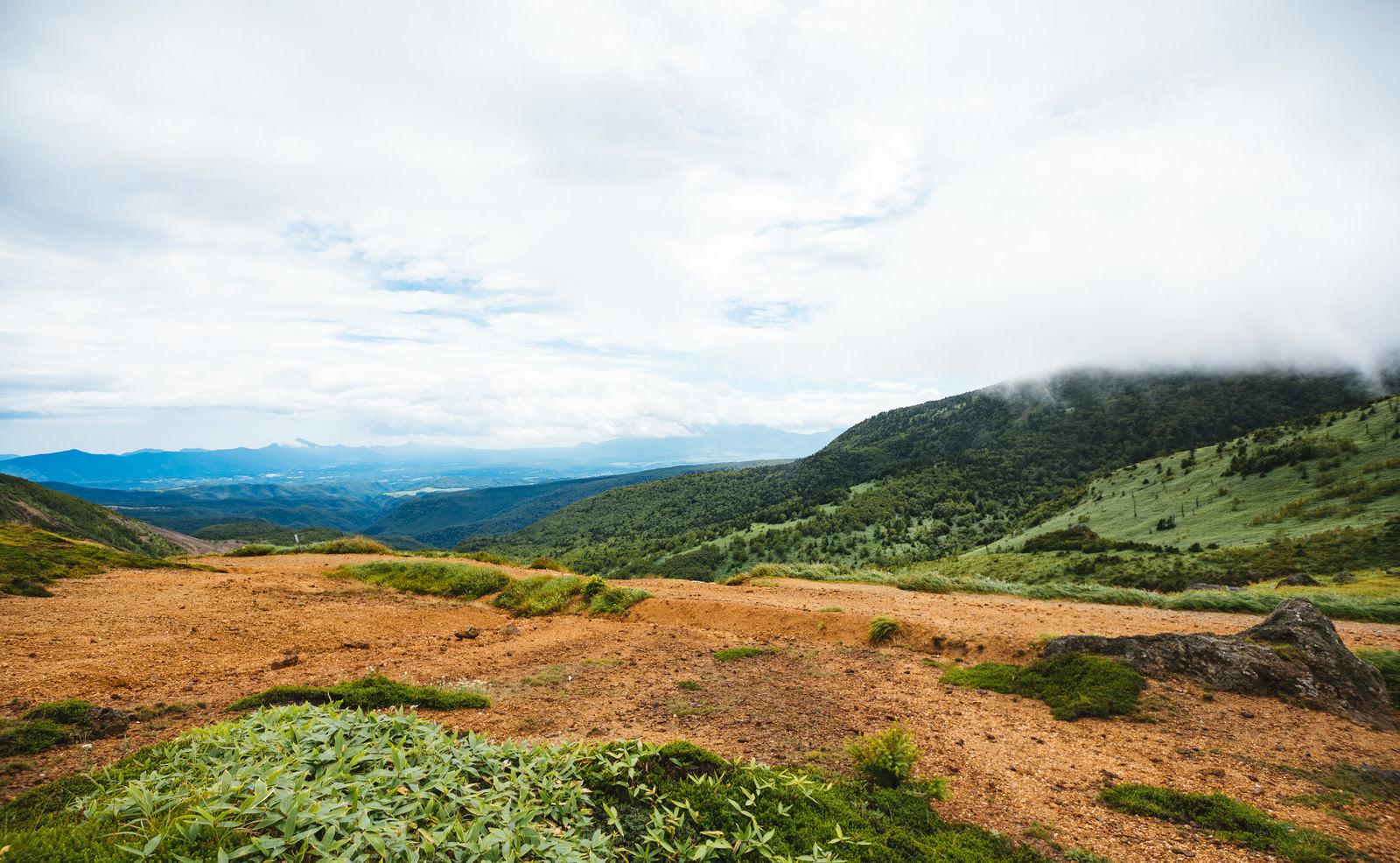 「毛無峠から見える景観」の写真