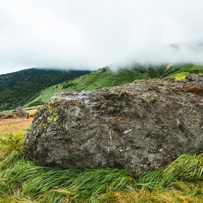 「毛無峠の岩」の写真素材