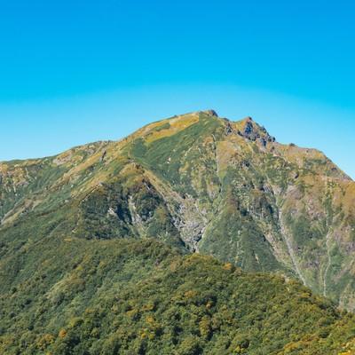 「谷川岳(たにがわだけ)」の写真素材